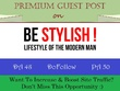 Submit A HQ Guest Post on Bestylish.org with DoFollow Backlink