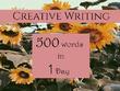 Creative Writing on anything
