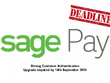 Upgrade SagePay module to 3D Secure v2 to meet mandatory changes