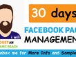 Provide high quality content for Facebook page in 5 days