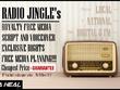 "Create & ""AIR"" A Radio Jingle/Advert To Market Your Company"
