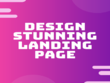 Design stunning home page or landing page in WordPress