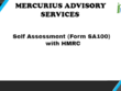 Prepare and submit Self Assessment Form SA 100