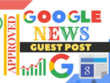 Publish 10 * post on Google News Approved sites