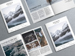 Create a magazine design and layout up to 50 pages