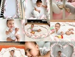 Shoot 5 photo of your product with my baby model in creative way