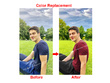 Change color to your 10 images to any color