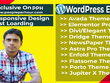 Design and Develop Responsive WordPress  website 6 to 8 Pages