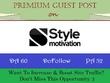 Submit Guest Post on StyleMotivation.com - DA 60, DR 57