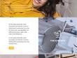 Create a desktop website UX UI  layout design