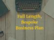 Write a full-length, bespoke business plan