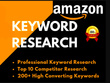 Generate expert keyword research for your amazon product