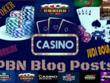 50 PBNs Blogpost From Casino  Gambling  Poker High DA Backlink