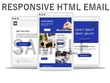 Design responsive HTML email template or Newsletter
