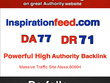 Guest post on InspirationFeed --InspirationFeed.com- DR 71 DA 77