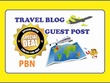 Write and publish 5 PBN Guest post on Travel Blog