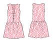 Design fashion technical illustration cad
