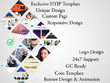 Create exclusive HYIP template