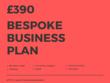 Prepare a bespoke business plan