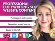 Write Professional Copywriting For SEO Website Content