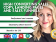 Write High Converting Sales Copy For Landing Pages