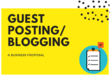 Guest Post 10 x 600 Word SEO Guest Blogs via Blogger Outreach