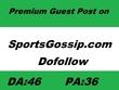 Write & Publish Guest Post on SportsGossip.com  DA:46