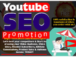 Do youtube SEO promotion to rank videos and channels