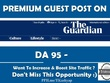 Publish a Guest Post on Theguardian com Top News Site DA 95