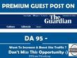 Publish a Guest Post on Theguardian com Top News Site DA 95