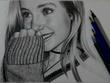 Draw realistic pencil portrait sketch drawing