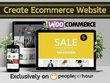 Create eCommerce website and Upload Products