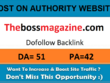 Add A Guest Post On Thebossmagazine.com– DA 51