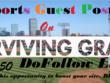 Write & Publish Sports Guest Post on SurvivingGrady.com