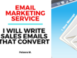 Email Marketing Service - I Will Write Sales Emails That Convert