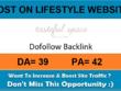 Add A Guest Post On Tastefulspace.com– DA 39 Lifestyle Website