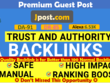 Publish guest post on Jpost, Jpost.com, DA91, dofollow backlink