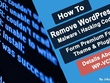 Remove malware and fix hacked wordpress website and secure in 24