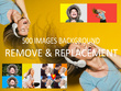 500 Images Background Remove