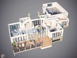 Provide High Quality 3D Floorplan Fully Furnished