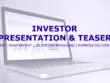 Create your professional investor presentation