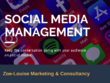 Manage your Social Media account for a week