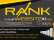 Rank Your Website on Google, One Month SEO Backlinks Manually