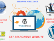 Create a website as per your recquirements