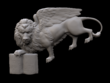 Model a custom 3D printable miniature or figure