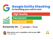 Create advanced google stack with 20 contextual backlinks