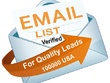 Email List 100K NEW Verified USA Leads - Scrape Email Address