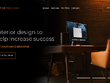 Design 1 Homepage Design Mockup (PSD)