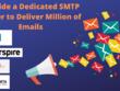 Provide a dedicated SMTP server to deliver million Emails