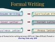 Write Professional Letter (CV, Bio, Formal letter, Cover letter)